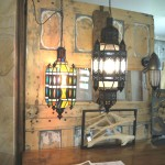 Marocain style lamp
