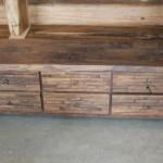 low desk 6 drawers