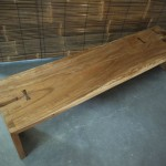 Tamarin bench with butterfly fixture